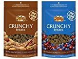 Nutro Crunchy Dog Treats 2 Flavor Variety Bundle: (1) Nutro Crunchy Dog Treats with Real Peanut Butter and (1) Nutro Crunchy Dog Treats with Real Mixed Berries, 10 Ounces Each (2 Bags Total) Larger Image