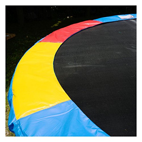 Multi Color Safety Pad Spring Round Frame Pad Cover Replacement 12FT Trampoline by Unknown