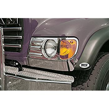 Amazon com: Freightliner Classic Short Hood Headlight Fender Guard