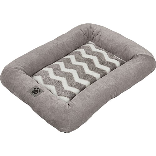 Precision Pet SnooZZy Hip as a Zig Zag Low Bumper Mat , 2000 Gray and (Snoozzy Pet Bed Plush)