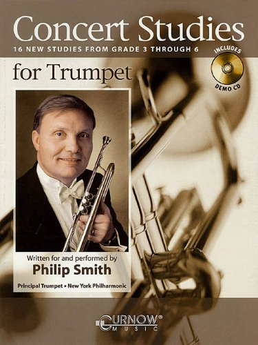 Concert Studies for Trumpet: Grade 3-6 Phil Smith Etudes Trumpet Cd's Trumpet Music Online