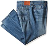 Lucky Brand Men's Big-Tall 181 Relaxed Straight-Leg Jean in Dellwood, Delwood, 48x32