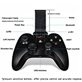 Apple MFi Certified Bluetooth Gamepad, Megadream Wireless IOS Gaming Controller Joystick Joypad with Clamp Holder for iPhone 7 6S 6 Plus 5S 5 4S, iPad Air 2, iPad Mini 4 3, iPad Pro, Apple TV, iPod