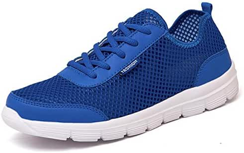 Puremee fashion style Lightweight Ultra-light breathable mesh Quick-Dry Sports Slip-on Water Shoes,sneakers, Casual shoes walking running For Men Women Kids couples
