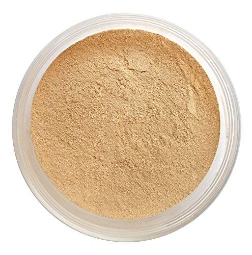 Nourisse Natural 100% Pure Mineral Foundation Facial Sunscreen Powder, 50+ SPF/Sensitive Skin Sunscreen (Golden Light)