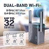 NEXTBOX WiFi Extender 1200 Mbps - 2.4 & 5GHz Dual