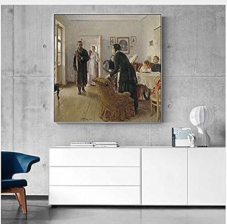 haoxinbaihuo Ilya Repin Famoso Arte De La Lona Pintura Mural ...