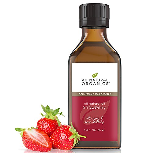(Au Natural Organics Strawberry Seed Oil 3.4 Oz)