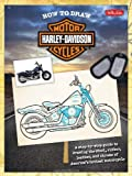 How to Draw Harley-Davidson Motorcycles: A step-by-step guide to drawing the steel, rubber, leather, and chrome of America's hottest motorcycle (Licensed How to Draw)