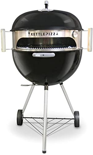 KettlePizza Basic 22.5 - Pizza Oven Kit for 22.5 Inch Kettle Grills