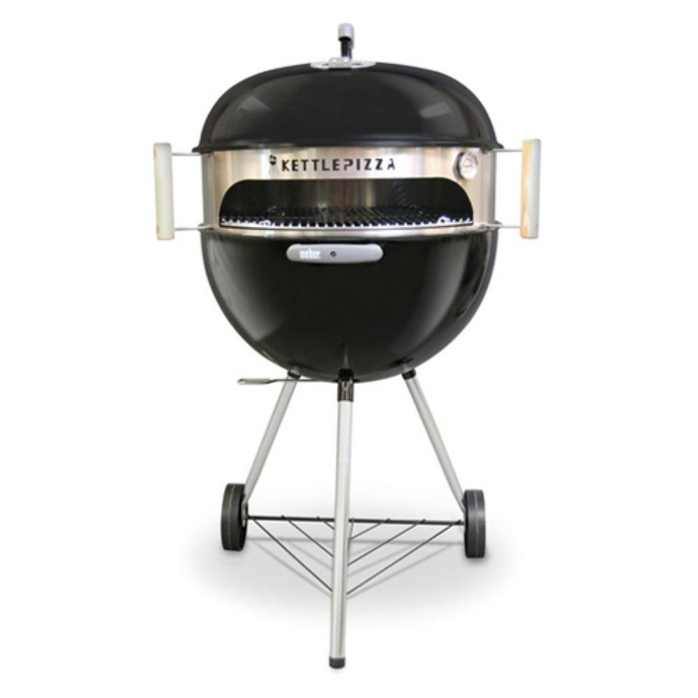 Made in USA KettlePizza Basic Pizza Oven Kit for 18.5 and 22.5 Inch Kettle Grills, KPB-22 by Kettle Pizza