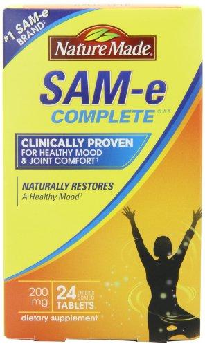 Nature Made SAM-e MoodPlus 200mg, 24 Tablets