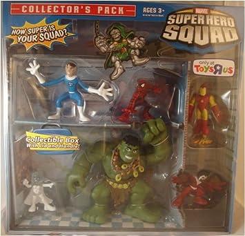 Marvel Superhero Squad 6 Piece Mini Figure Collectors Pack ...