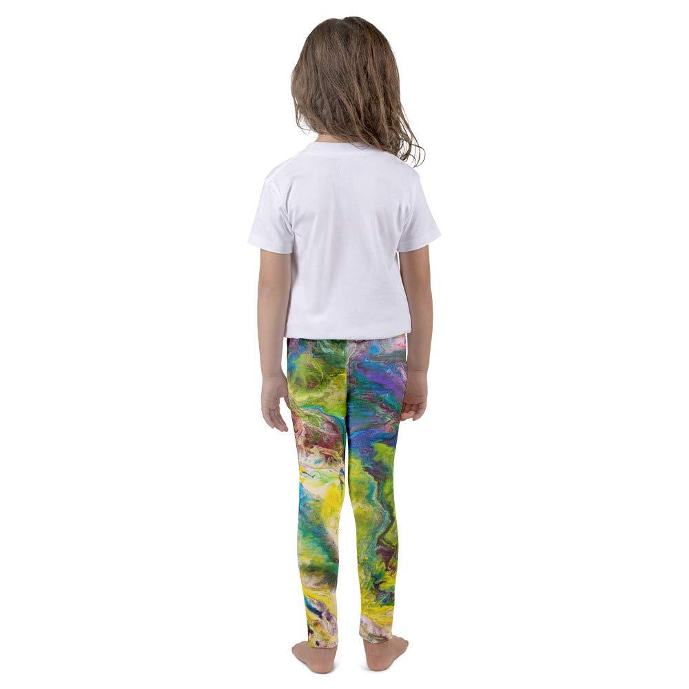 OLena Art Kids Leggings Calypso Abstract