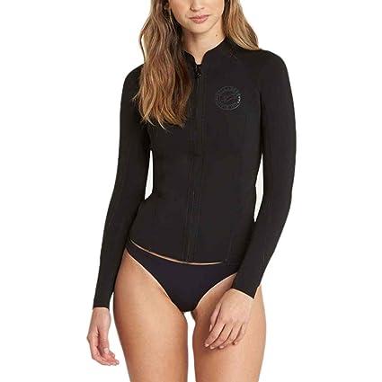 Amazon.com   Billabong 1mm Peeky Women s Jacket Wetsuits   Sports ... 521f23599