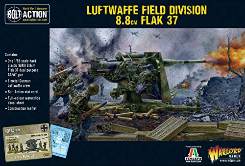 Warlord Games, Bolt Action, Luftwaffe Field Division Flak 37 8.8cm