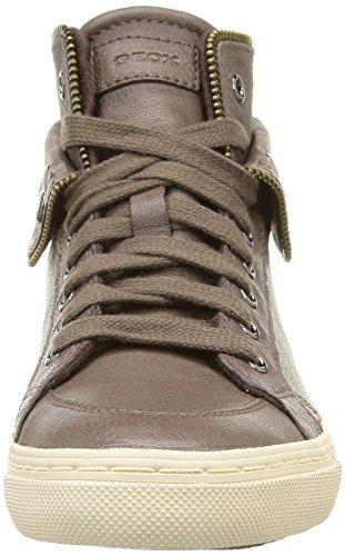 Sneakers Ny c1018 Grå Geox Kvinners D Hi D top Klubb Capra qUUw10x5