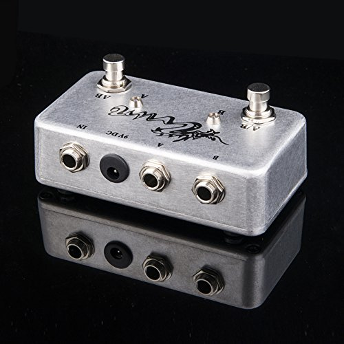 TTONE Hand made ABY Pedal Guitar Switch Box TRUE BYPASS Amp Guitar's AB/Y by TTONE