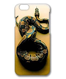 iCustomonline Case Cover For SamSung Galaxy S5 3D, Colorful Snake Plastic Colorful Clear Cute Designed Painted Slim Case Cover For SamSung Galaxy S5 3D