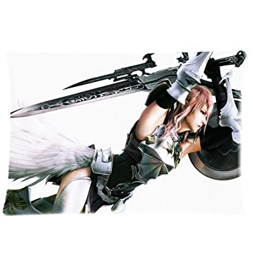 Amazon.com: Final Fantasy Custom Zippered Pillow Cases 20x30 ...