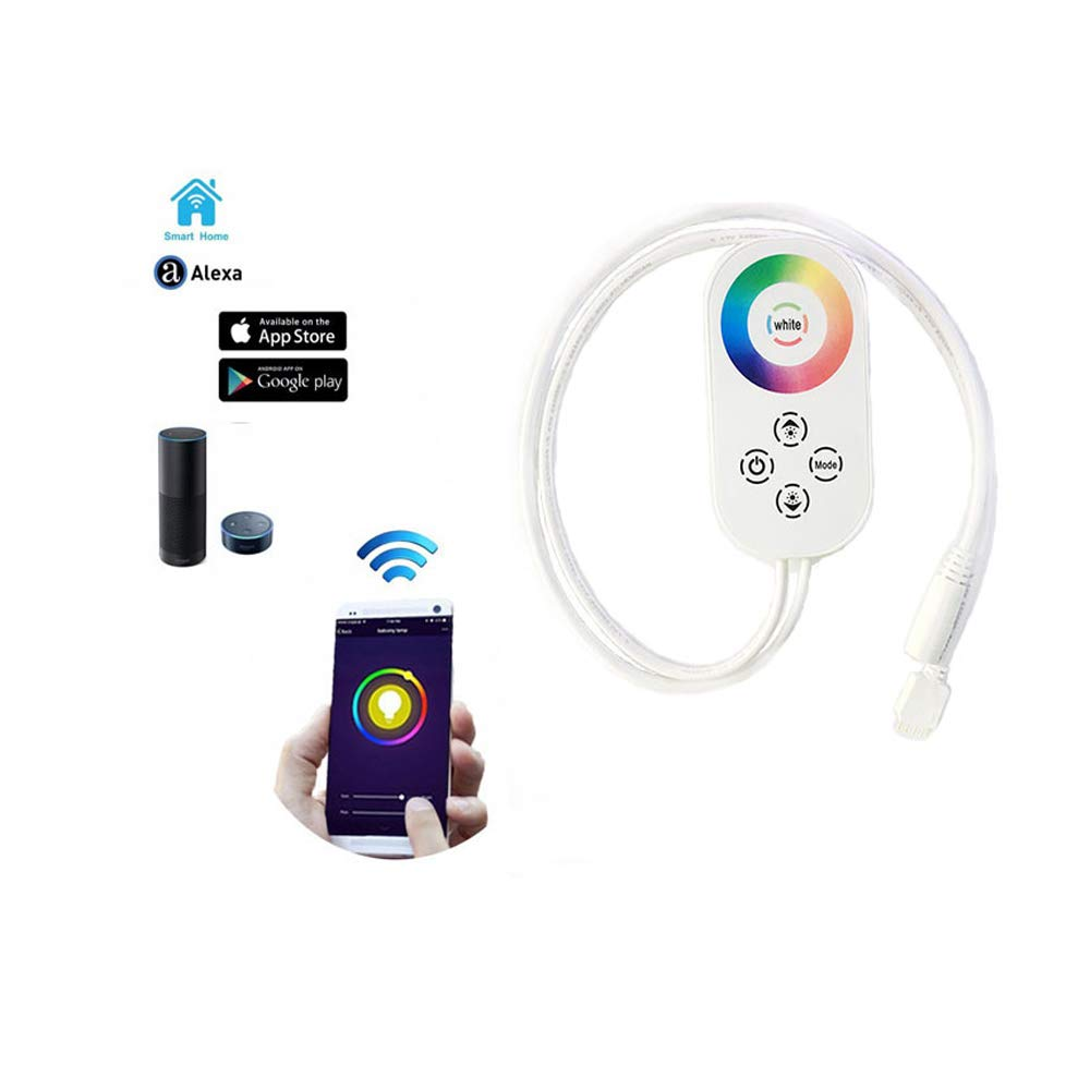 IOTB ZQ-W-08 WiFi/Echo LED Strip Controller, Control The Light Strip with The Smart Life APP, Amazon Echo