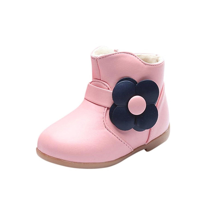 HCFKJ NiñOs CáLidos NiñAs Bebé Floral Martin Zapatillas Botas NiñOs Zapatos Casuales
