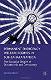 Permanent Emergency Welfare Regimes in Sub-Saharan Africa : The Exclusive Origins of Dictatorship and Democracy, Cerami, Alfio, 0230299792
