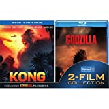 KONG Skull Island/GODZILLA Blu-ray 2-Film Collection Walmart Exclusive Packaging