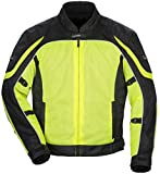 TourMaster Intake Air 4.0 Mesh Jacket For Women XL Hi-Viz Yellow