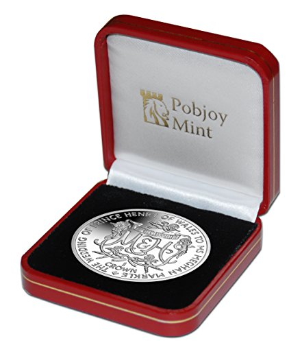British Pobjoy Mint: Royal Wedding of Prince Henry of Wales to Ms Meghan Markle - 2018 Proof Sterling Silver Coin