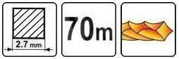 89485 Hilo Silent de 2,7 mm x 70 m