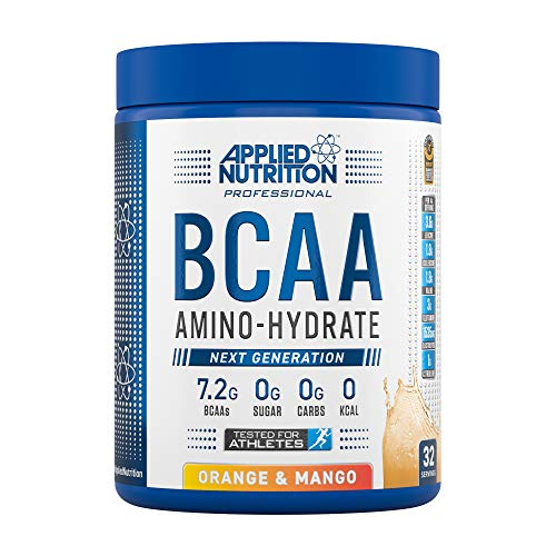 Applied Nutrition BCAA Powder Branched Chain Amino Acids Supplement with Vitamin B6, Replenish Electrolytes, Amino…