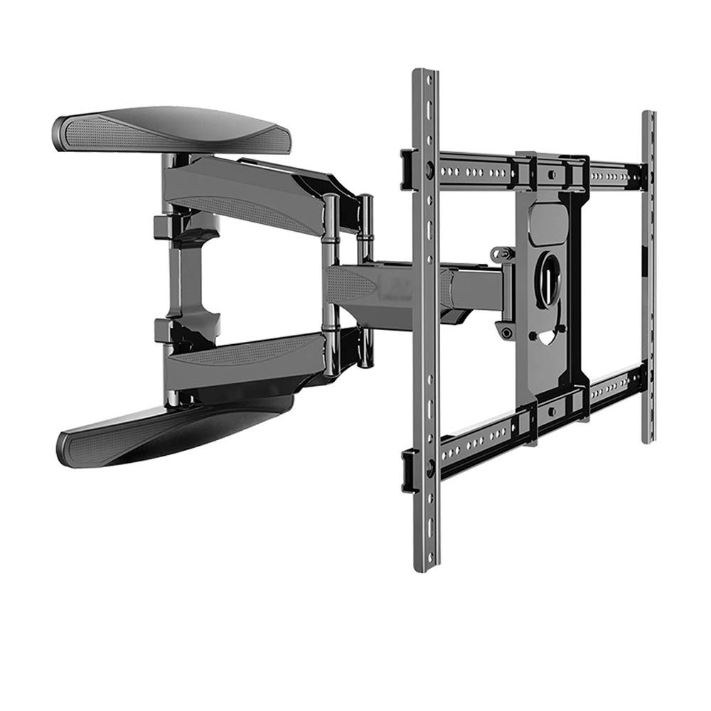 JL TV Rack Telescopic Rotating Frame TV Stand Wall Mount TV Bracket Wall Mount Folding Universal Multifunction A+ (Color : D) by Monitor Stand