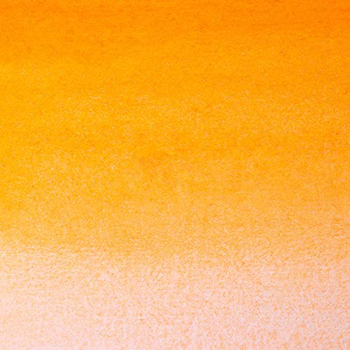 White Nights Artists' Watercolour - Semi-Dry Whole Pans in Plastic Cups - Naples Orange (254) (A)