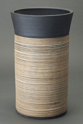 ストリーム傘立L信楽焼陶器傘立て B0057EIUSS