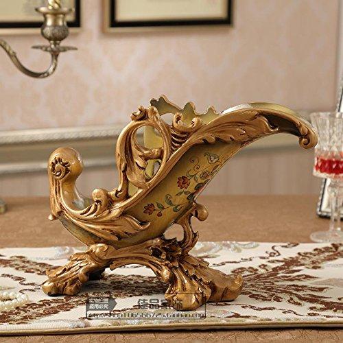European wine rack Home Furnishing jewelry ornaments luxury Decor resin crafts living room cabinet zj01261046