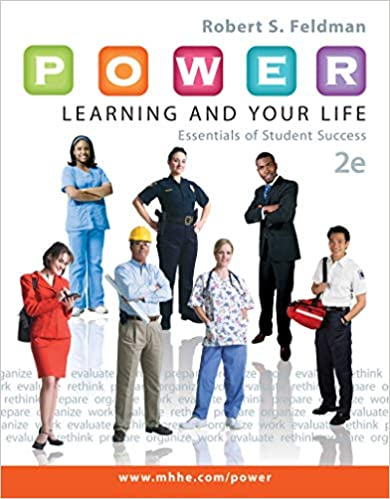 P O W E R Learning And Your Life Essentials Of