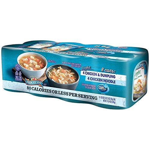 (Progresso Light Chicken Combo Soup (18.5 oz. cans, 8 pk.))
