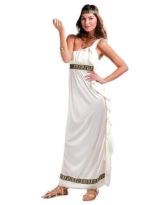 finest selection 28a5c ecad0 Costume antica Roma donna adulta Dea dell'Olimpo