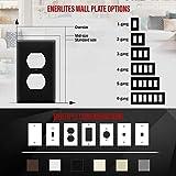 ENERLITES Duplex Wall Plates Kit, Home Electrical