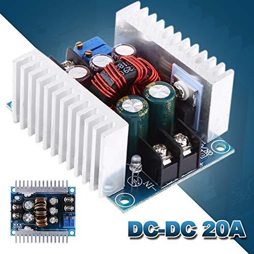 Power Inverter - DC-DC 20A High Power Adjustable Constant Current Buck Converter Buck Module Constant Voltage Charging Module