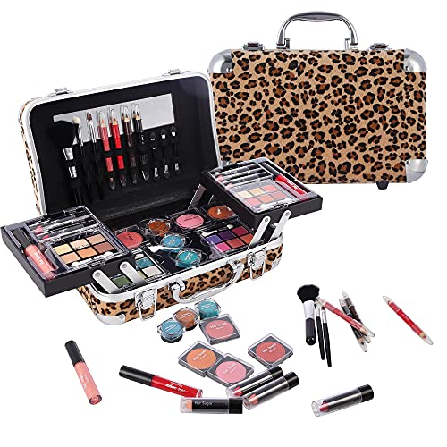 Hot Sugar Makeup Kit Gift Set for Adults and Girls-Full Makeup Kit for Beginners Includes Eye Shadow Palette Blush Lip…