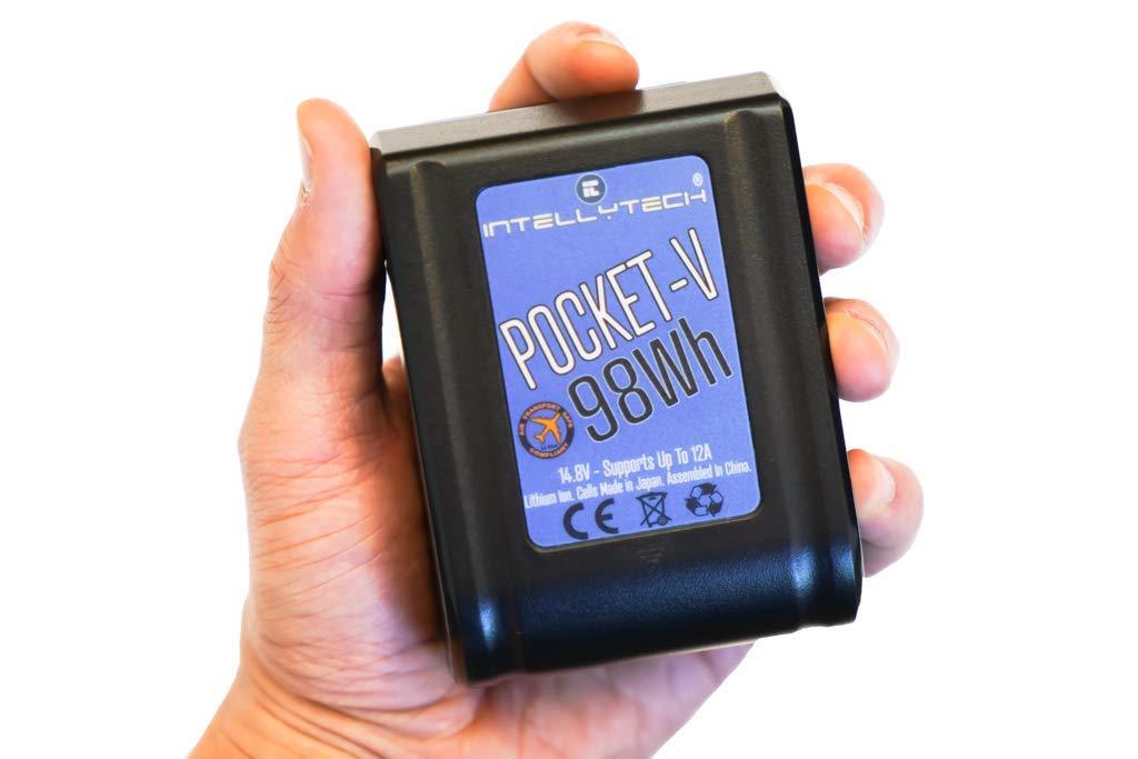 Intellytech Pocket-V | 98Wh | V-Mount Battery by Intellytech