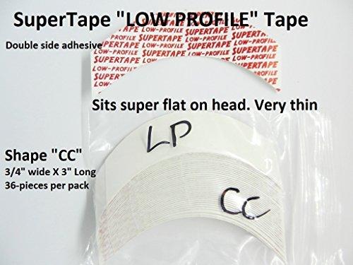 Shape Super (SuperTape Super Tape LOW PROFILE Shape CC = 1 pack of 36 strips)