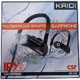 Fone De Ouvido Bluetooth KAIDI Kd780 Sports- À Prova D'água IPX7