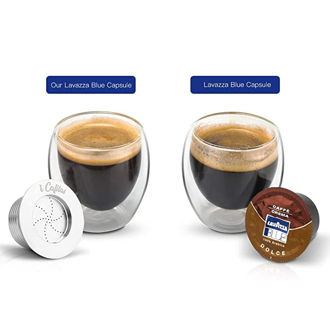 Amazon.com: Cápsulas de café recargables de acero inoxidable ...