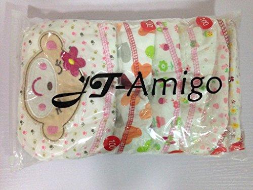 JT-Amigo - Mutandine di Apprendimento - Disegni Bambina - Confezione da 6 5