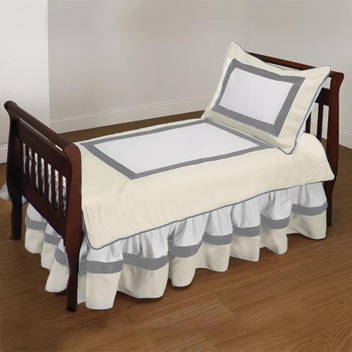 Baby Doll Bedding Classic II Toddler Bedding Set, Ecru