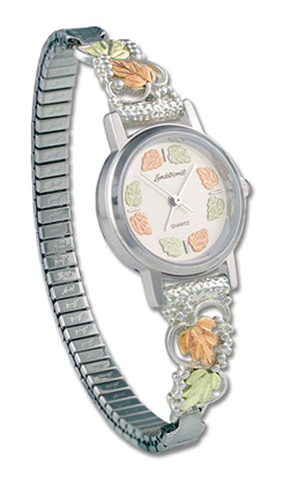 Landstroms Gold On Silver Ladies Watch and Band - 09286B-SS-09250-SS