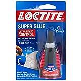 Loctite Super Glue, Ultra Liquid Control 0.14 oz (Packs of 2)